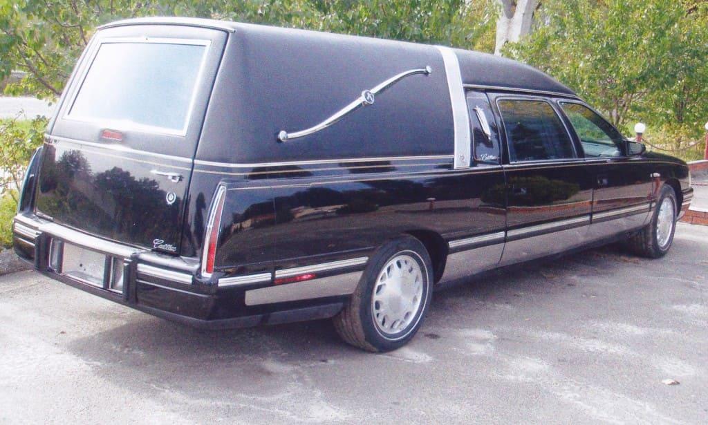4а. Похоронный транспорт.