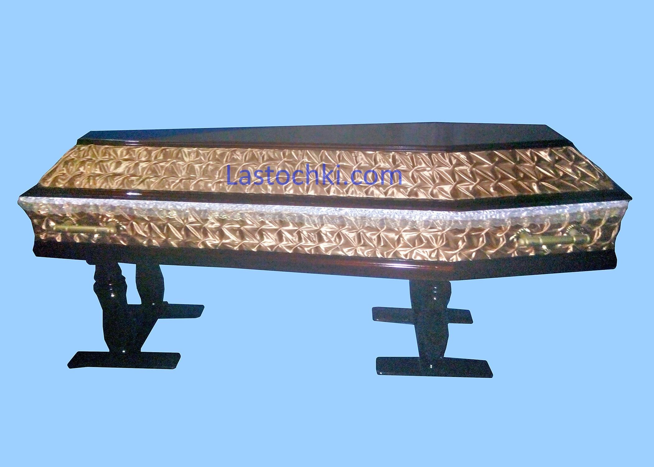 Комбинированный гроб Волна - Цена 4000 грн.