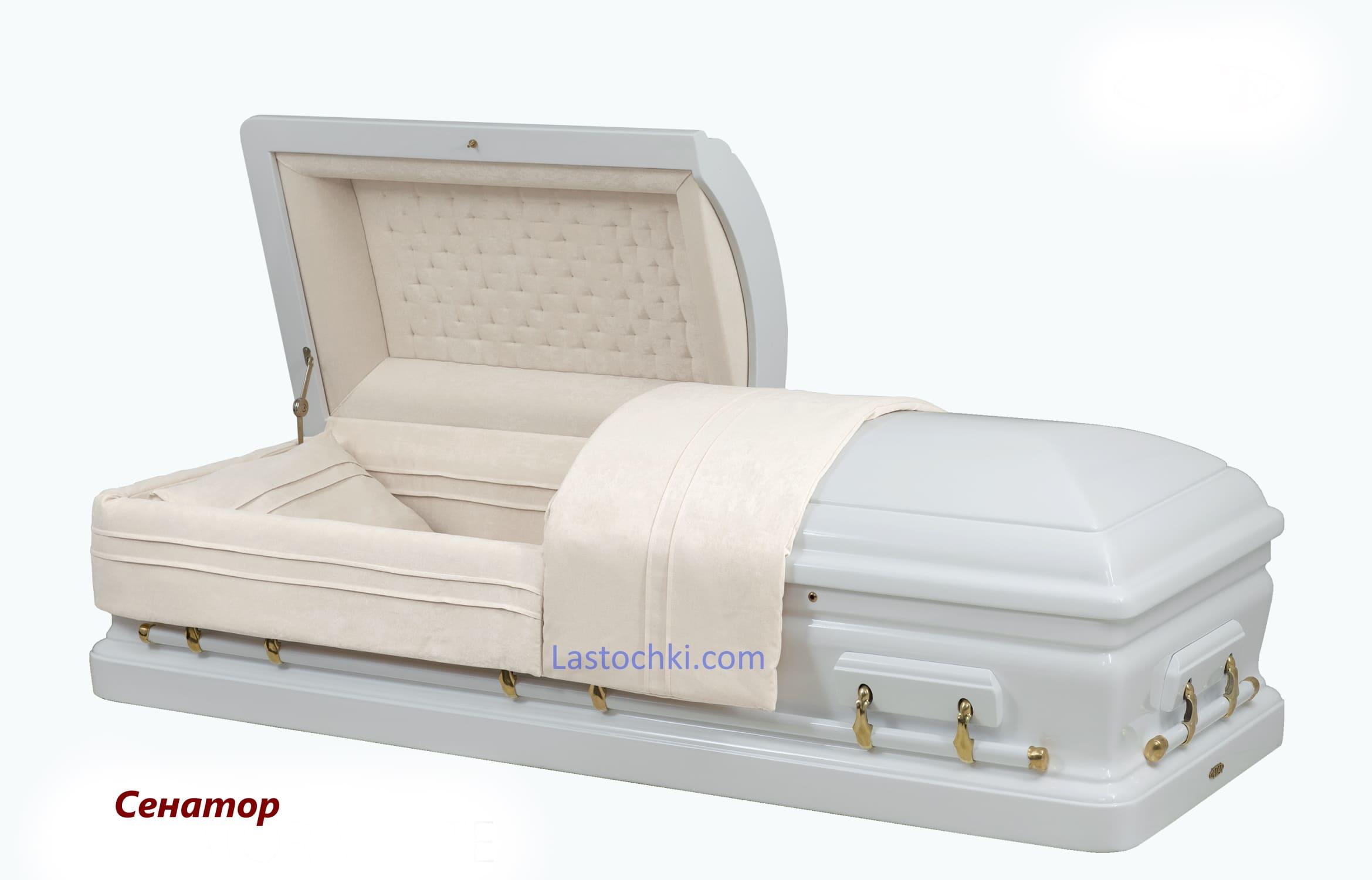 Саркофаг Сенатор белый  - Цена 160 000 грн.